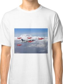 Final Vulcan Flight With The Red Arrows  - 3 Classic T-Shirt