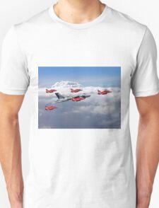 Final Vulcan Flight With The Red Arrows  - 3 T-Shirt