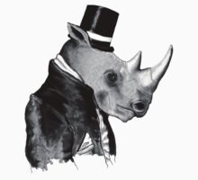Richard R. Hornwood (Gentleman Rhino) by Miln3r