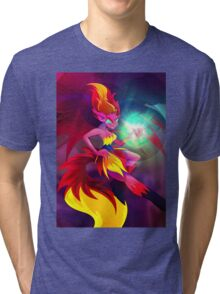 Sunset Shimmer - Demon Tri-blend T-Shirt
