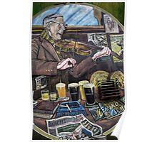 Maddens Bar Belfast Poster
