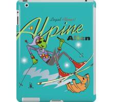 alpine alien iPad Case/Skin