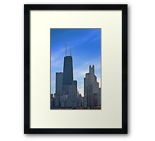The Windy City Framed Print