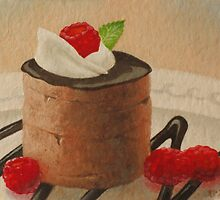 Food Luv--Chocolate Mousse by MysticMeadow