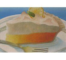 Food Luv--Lemon Meringue Pie Photographic Print