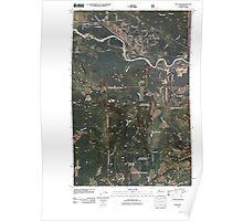 USGS Topo Map Washington State WA Gold Bar 20110428 TM Poster