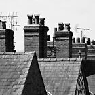 Rooftops And Chimney's by Stan Owen