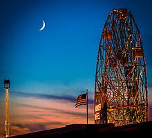 Twilight at Coney Island by Chris Lord