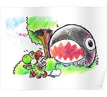 Run Yoshi run Poster