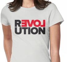 Revolution of love Womens Fitted T-Shirt