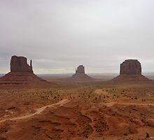 Monument Valley by Nicole  Markmann Nelson