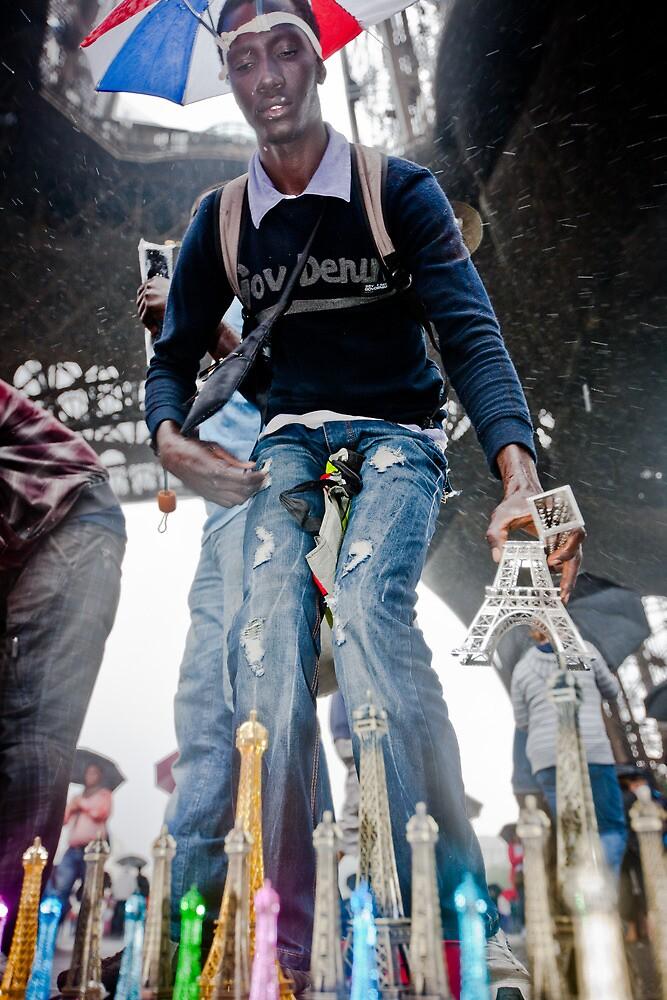 Eiffel Tower, Paris  by Heather Buckley