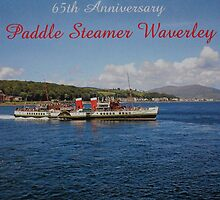 Paddle Steamer Waverley 65th Anniversary 2012 by youmeus