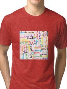 Colour language Tri-blend T-Shirt