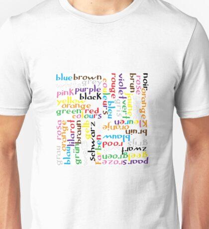 Colour language Unisex T-Shirt
