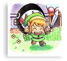 Run Link run Canvas Print