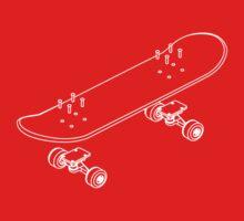 Skateboarding deconstructed Kids Clothes