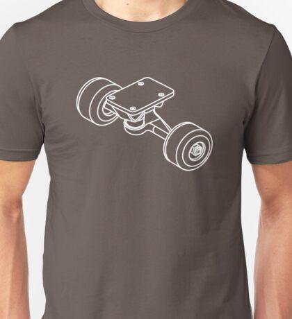 Skateboarding deconstructed (detail) Unisex T-Shirt