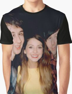 zoe, dan, & phil Graphic T-Shirt