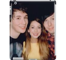 zoe, dan, & phil iPad Case/Skin