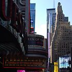 The Paramount Building - NYC by John Schneider