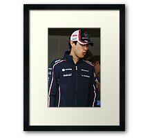 Bruno Senna - Ooh Framed Print