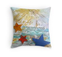 The Star Beach Throw Pillow