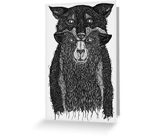 Sheep in Wolfs Clothing  Greeting Card