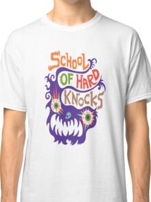 School Of Hard Knocks violet Classic T-Shirt