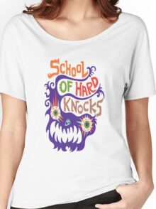 School Of Hard Knocks violet Women's Relaxed Fit T-Shirt