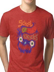 School Of Hard Knocks violet Tri-blend T-Shirt