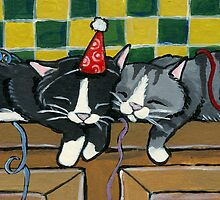 Pooped Out Partiers by Lisa Marie Robinson
