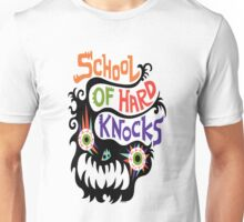 School Of Hard Knocks black Unisex T-Shirt