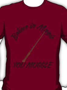 Bazinga Muggles T-Shirt