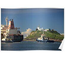 Hanjin Haypoint Cargo Ship Poster