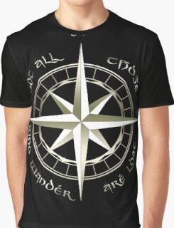 Not all those who wander are lost - J.R.R Tolkien - 2 Graphic T-Shirt