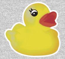 Rubber Ducky [Print   iPhone / iPad / iPod Case & Tshirt] One Piece - Long Sleeve