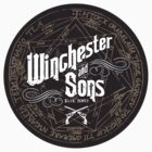 Winchester & Sons (Sigil) Sticker by mannypdesign
