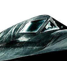 SR-71 Blackbird by captureasecond