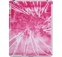Red Ball Exploding. iPad Case/Skin