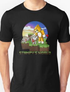 Mr Stampy cat and dogs at sunset T-Shirt
