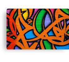 Graffiti, Hosier Lane Canvas Print