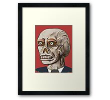 THEY DON'T WANT YOU TO KNOW Framed Print