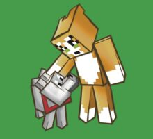 Stampy and Gregory the dog Kids Clothes