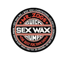 Mr Zogs Sex Wax - Black and Red by Leo Barbieri