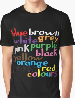 Geek colours Graphic T-Shirt