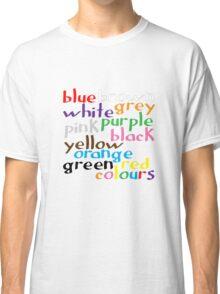 Geek colours Classic T-Shirt