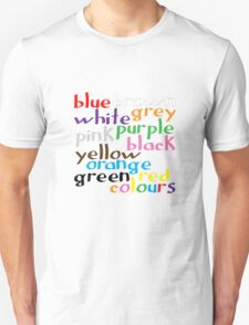 Geek colours Unisex T-Shirt