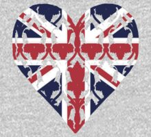 Union Jack Sherlock Wallpaper Heart by cumberqueen
