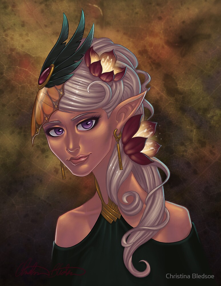 Elven Maiden by Christina Bledsoe